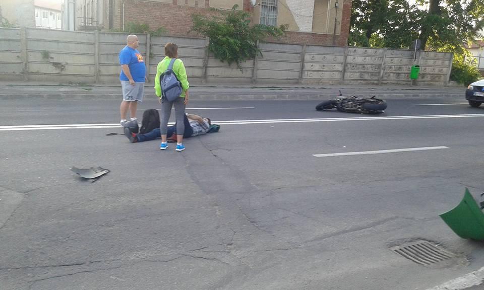 accident motociclist Oradea 26.06