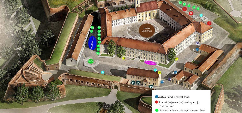Primaria Oradea organizeaza licitatie pentru atribuirea amplasamentelor la Zilele Cetatii Oradea