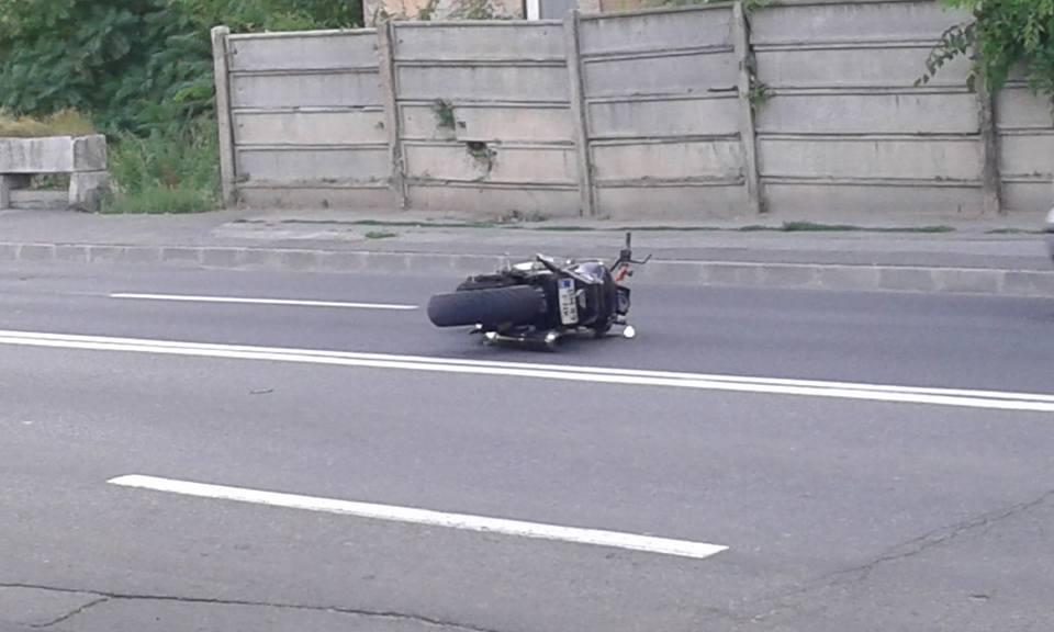 motociclist accidentat oradea 26.06 stefan cel mare