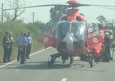 SMURD accident Oradea-Salonta