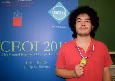Tanarul beiusean, Tamio Vesa Nakajima, a castigat medalia de aur la Olimpiada de Informatică a Europei Centrale