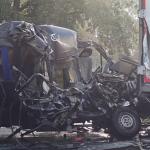 Accident grav in Ungaria, in apropiere de Vama Bors. Trei romani au decedat si alti 6 sunt in stare grava (VIDEO)