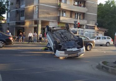 accident magheru audi opel