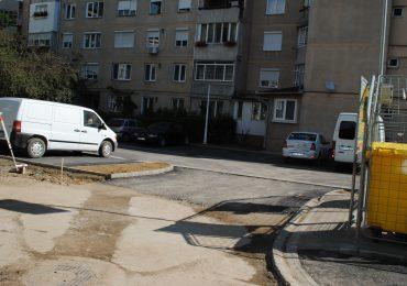 constructie locuri de parcare Oradea - Birta
