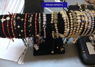 Politistii au confiscat aproape jumatate de kg de aur, in Oradea, scos la vanzare, fara documente de provenienta