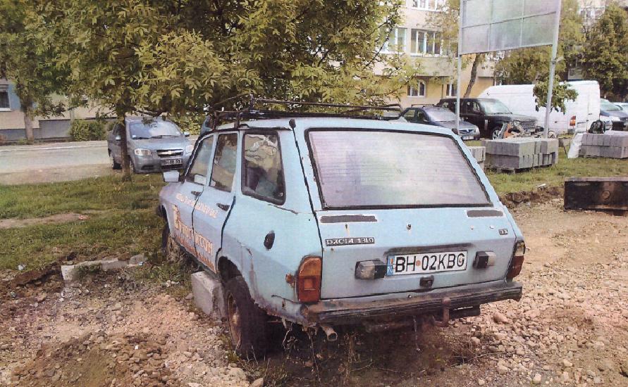 Incepe vanatoarea de masini abandonate in Oradea. Ce masini a identificat Politia Locala