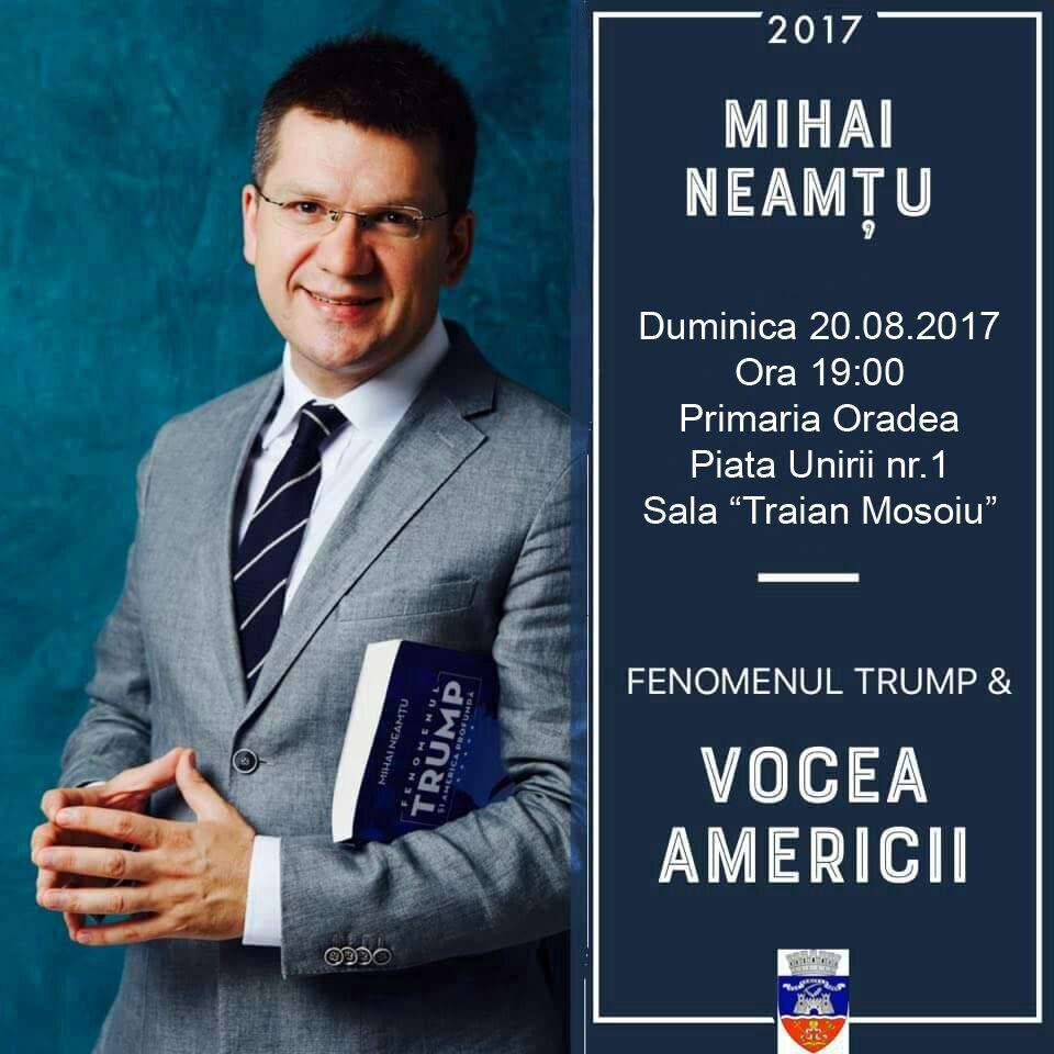 Fenomenul Trump - Mihai Neamtu Oradea