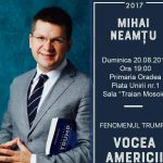"""""""Fenomenul Trump și America profundă"""", carte-evenimet lansata de scriitorul Mihai Neamtu la Oradea"""