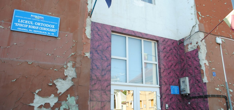 "Fatada Liceului Ortodox ""Roman Ciorogariu"" va intra in reparatii"