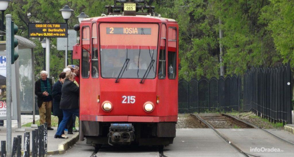 Vineri de la ora 21:30 se sisteaza circulatia tramvaielor 2, 1R si 3R, in Oradea