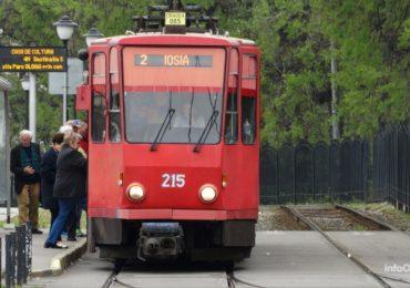 S-a reluat circulatia cu tramvaie pe linia tramvaiul 2, Iosia-Nufarul