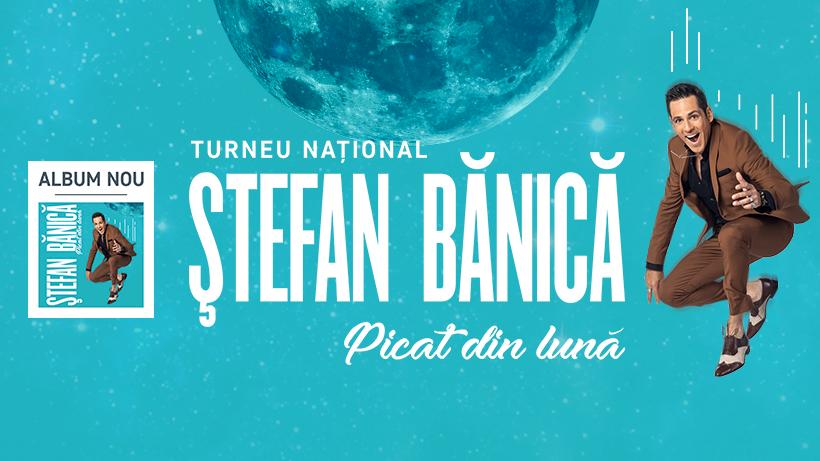 """Stefan Banica vine in concert la Oradea cu noul album """"Picat din luna"""" (Audio)"""