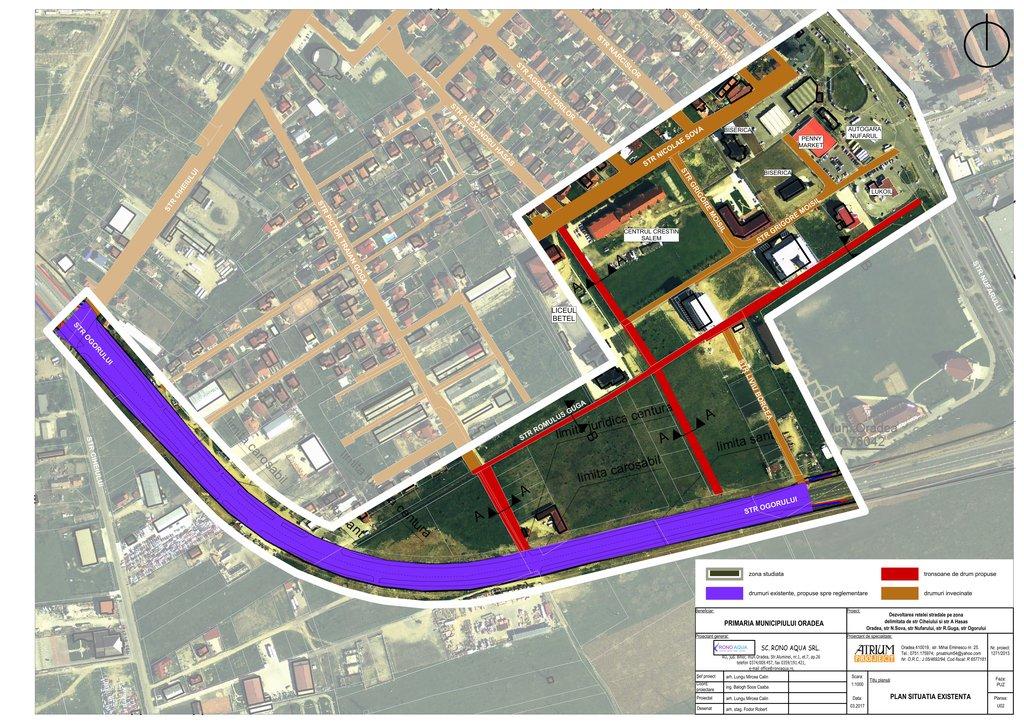 Plan situatie stradala Ogorului - Nufarul