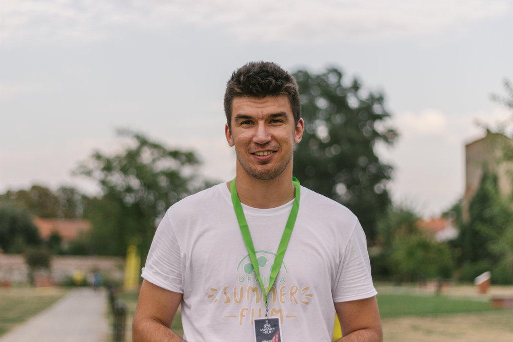 Razvan Rocas - voluntar Oradea Summer Film
