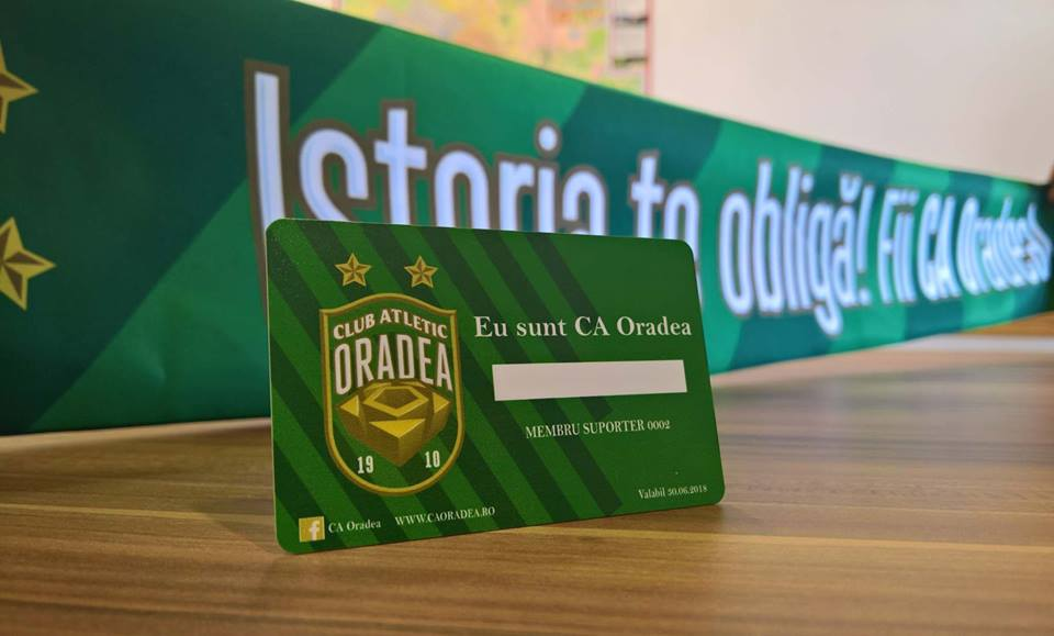 card Membru CAOradea