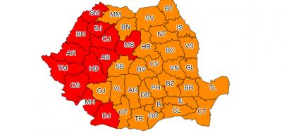 COD ROSU de canicula in judetul Bihor. Temperaturi extreme, de 42ºC, in urmatoarele 2 zile