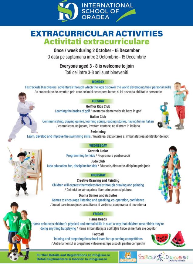 Activitati extracurriculare