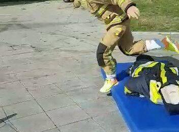 Ce mai puternic pompier locul 2 pompieri bihoreni