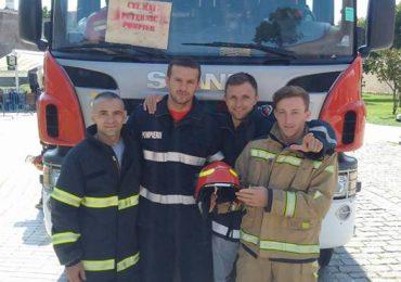 """Pompierii bihoreni au obținut Locul II la etapa națională a competiției pe echipe """"Cel mai puternic pompier""""."""