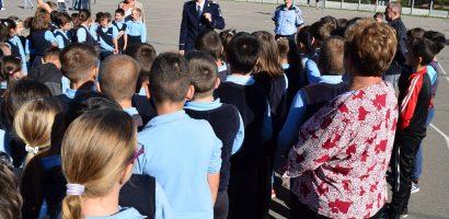 "Campanie de de prevenire a victimizarii copiilor ""Scoala in siguranta"", desfasurata de politistii bihoreni"