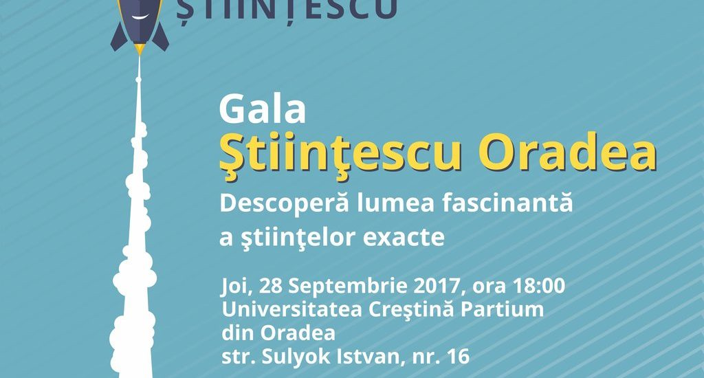 Joi, 28 septembrie, Fundaţia Comunitară Oradea lansează a doua ediție a programului Științescu Oradea.