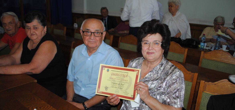 """62 de familii din Oradea, ce si-au sarbatorit """"Nunta de Aur"""", vor fi premiate de Primaria Oradea"""