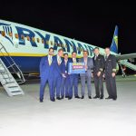 Ieri seara a fost inaugurat primul zbor spre Germania, de pe Aeroportul Oradea (FOTO)