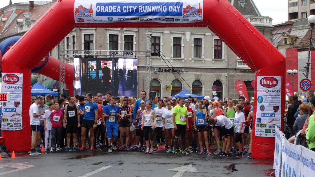 Start Oradea City Running Day 2017