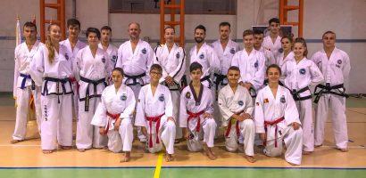 Echipa nationala de arte martiale se pregateste la Salard, judetul Bihor