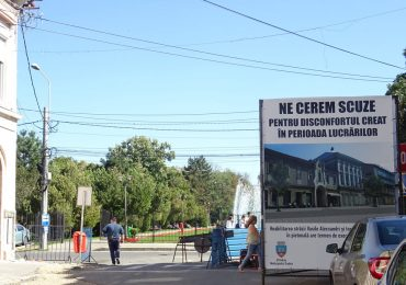 Au inceput lucrarile de amenajare a strazii Vasile Alecsandri. Cum va arata aceasta si cand va fi gata