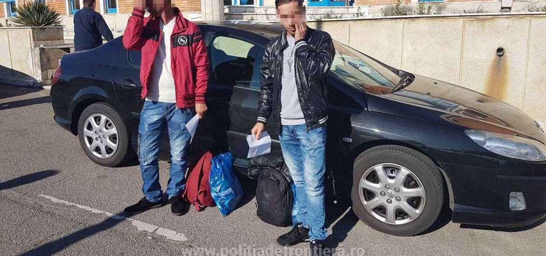 Trei kosovari incercau sa iasa din tara, prin Bors, cu pasapoarte false, pentru care au platit cate 500 de euro