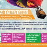 """Azi, 2 Octombrie, Fundaţia Comunitară Oradea lansează cea de a cincea ediție a programului """"Bursa Talentelor""""."""