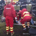 Accident grav in apropiere de Inand. Trei persoane au ajuns la spital in stare critica