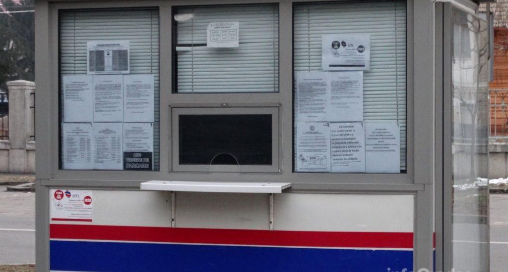 Angajata OTL ce vinde bilete in chioscul  din Piata Unirii a fost agresata de un individ care a incercat sa o insele