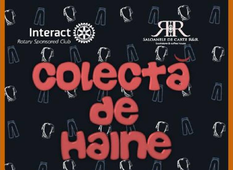 "Tinerii liceeni de la Interact Oradea organizeaza o ""Colecta de haine"""