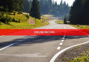 Din 20 noiembrie au fost inchise mai multe drumuri judetene, pe perioada iernii.