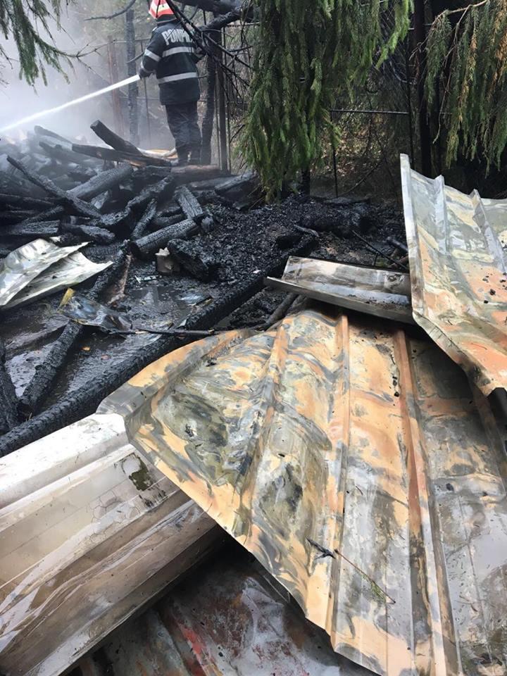 Incendiu Sudrigiu Parcul natural Apuseni