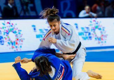 Oradeanca Larisa Florian, argint la europenele de judo, sub 23 de ani, de la Podgorica (Muntenegru)