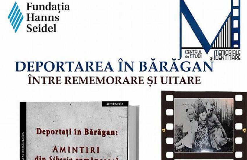 """Lansare de carte si dezbatere pe marginea cartii """"Deportați în Bărăgan: Amintiri din Siberia românească"""""""
