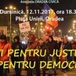 Duminica iesim din nou! Oradenii sunt chemati sa protesteze in Piata Unirii