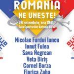 """ROMÂNIA NE UNEȘTE ! ""Spectacol extraordinar cu Veta Biris, Florica Zaha, Nicolae Furdui Iancu, s.a."