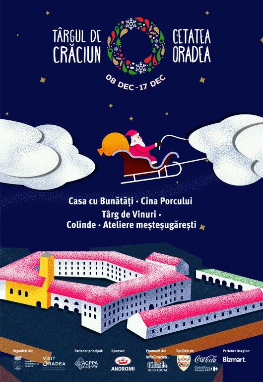 Targul de Craciun Oradea 2017 Cetatea Oradea