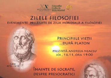 Ziua Mondiala a Filosofiei, sarbatorita la Oradea prin mai multe evenimente organizate de Noua Acropola