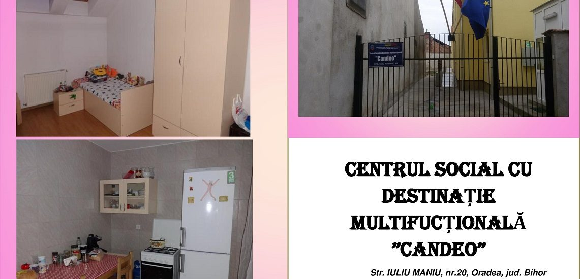 Incepand de maine se pot depune dosarele pentru Centrul Social Candeo din Oradea