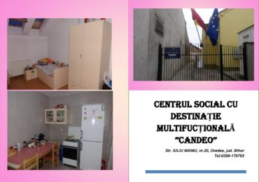 Centru social Candeo din Oradea preia in chirie tineri intre 18 si 35 de ani, care au parasit sistemul de protectie a copilului si nu au locuinte