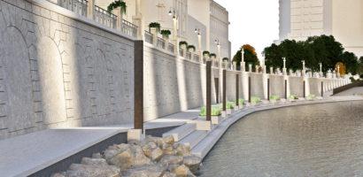 Restaurarea malului stang al Crisului Repede va fi  finalizata pana la finele anului 2018 (GALERIE FOTO)