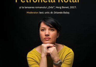Petronela Rotar își lansează noua carte la Primăria Oradea