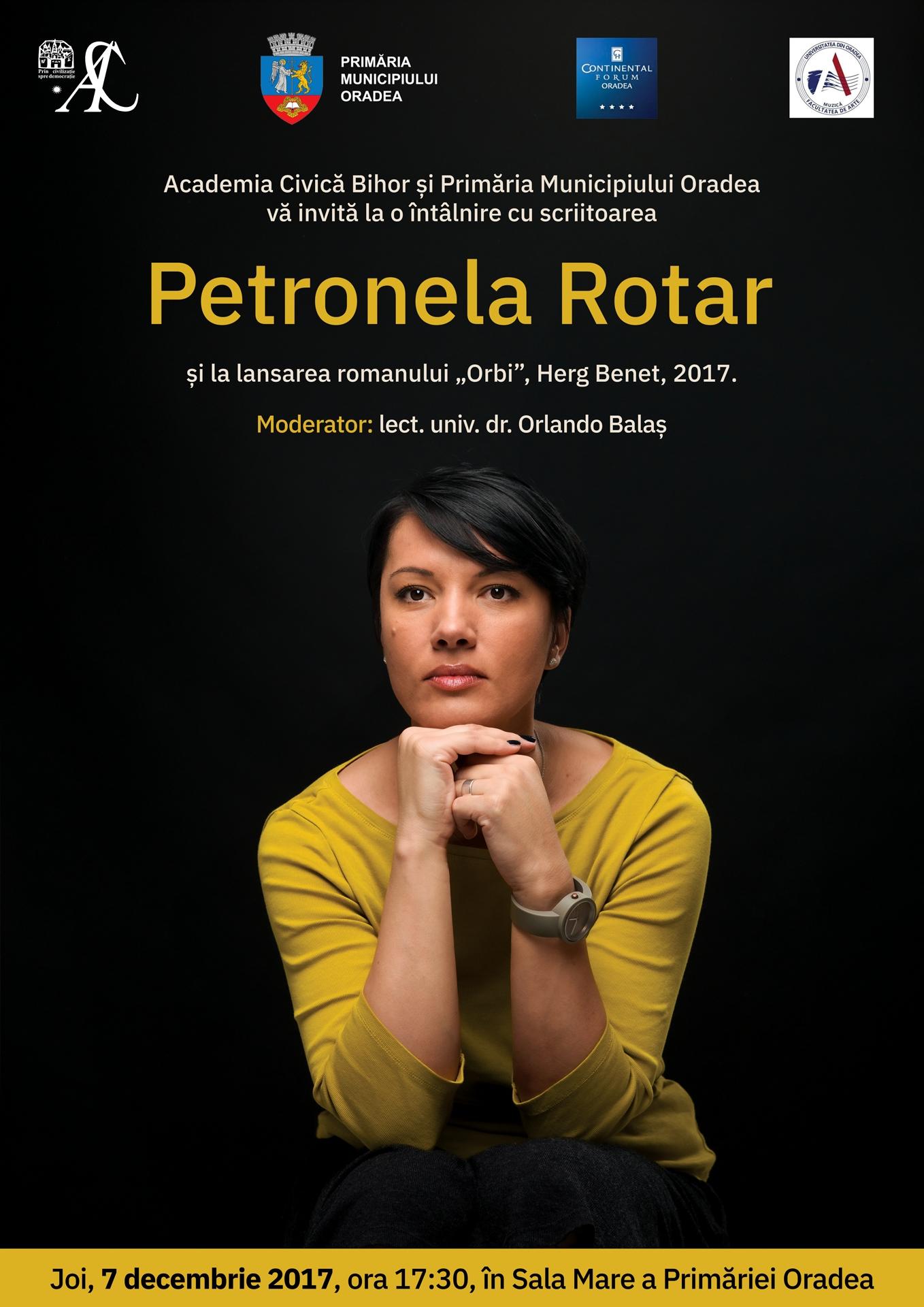Afis Petronela Rotar Oradea