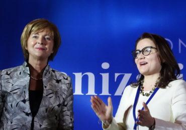 Imagini Congres OFL 17 decembrie 2017 - Florica Chereches si Cristina Traila