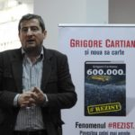 """Grigore Cartianu își lansează la Oradea noua sa carte: """"600.000"""" – povestea fenomenului #Rezist"""